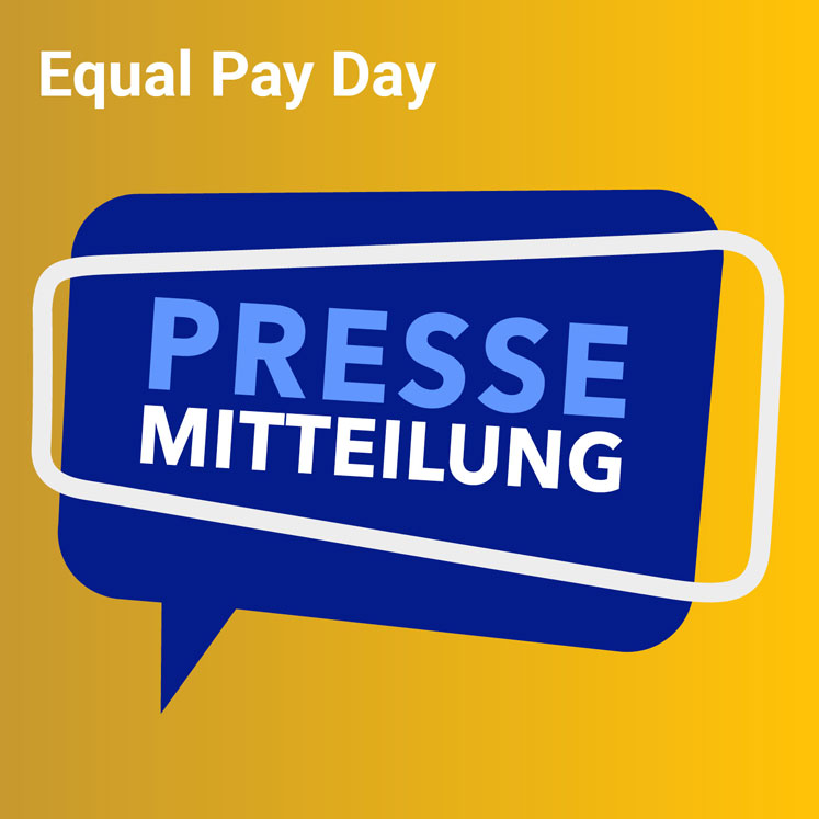 Equal Pay Day Pressemitteilung kachel